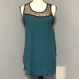 Missimo Hedge Lace Tank Top